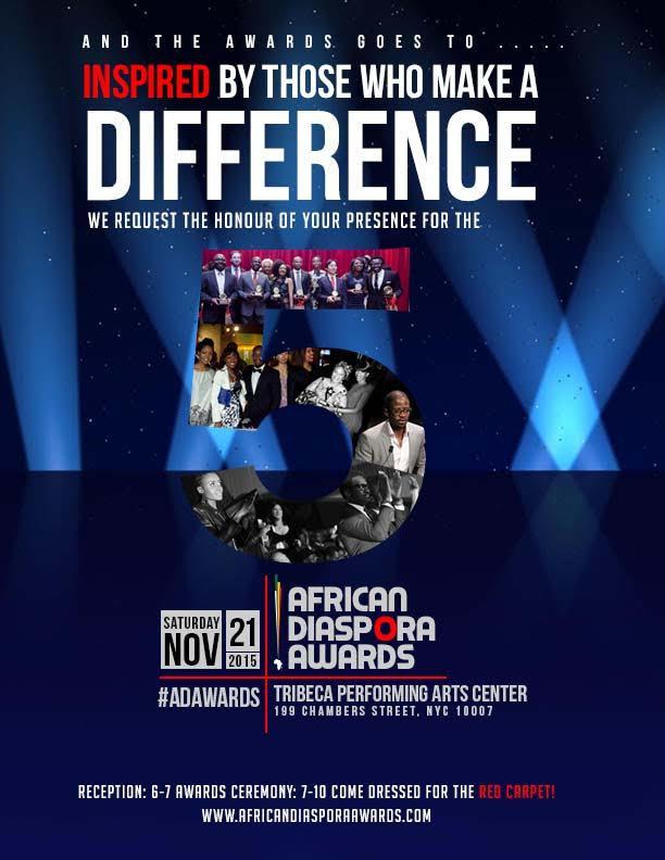 2015-11-18 - African Diaspora Awards