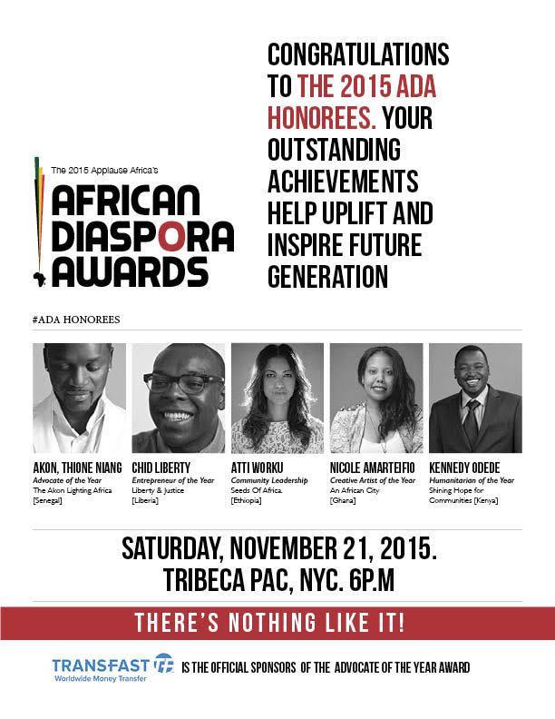 2015-11-18 - African Diaspora Awards2