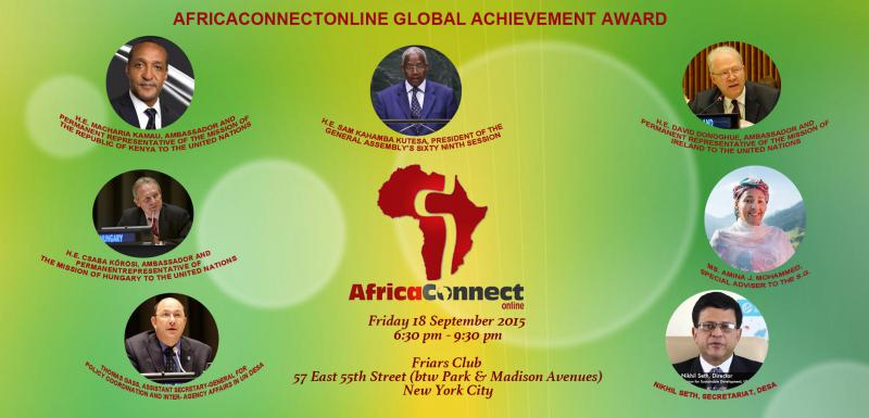 AfricaConnect Online Global Achievement Award