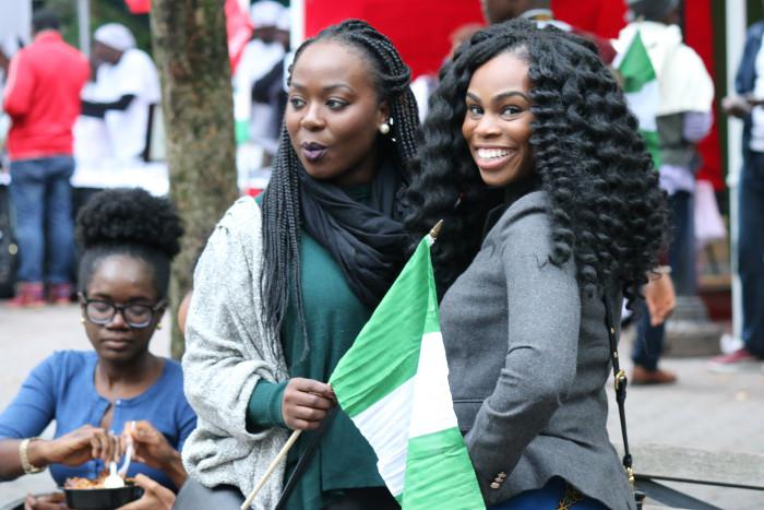 Celebrating Nigerias 54th Independence Day Anniversary in NYC