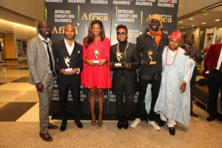 Faces at the Applause Africa 4th Annual African Diaspora Awards Night in NY