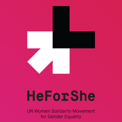 HeForShe Logo Badge