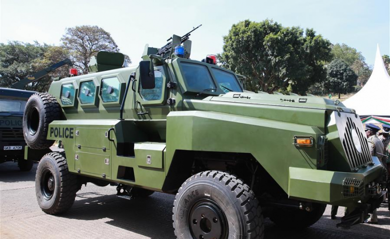 Kenya Police Intensify Operation Against Bandits