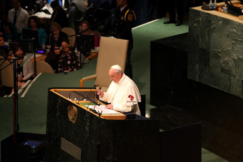 Pope Francis Addresses the UN1