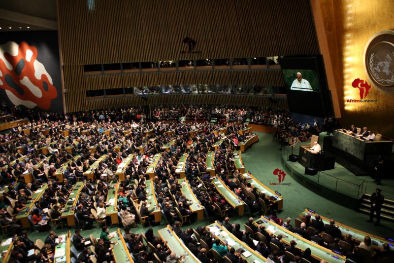 Pope Francis Addresses the UN2
