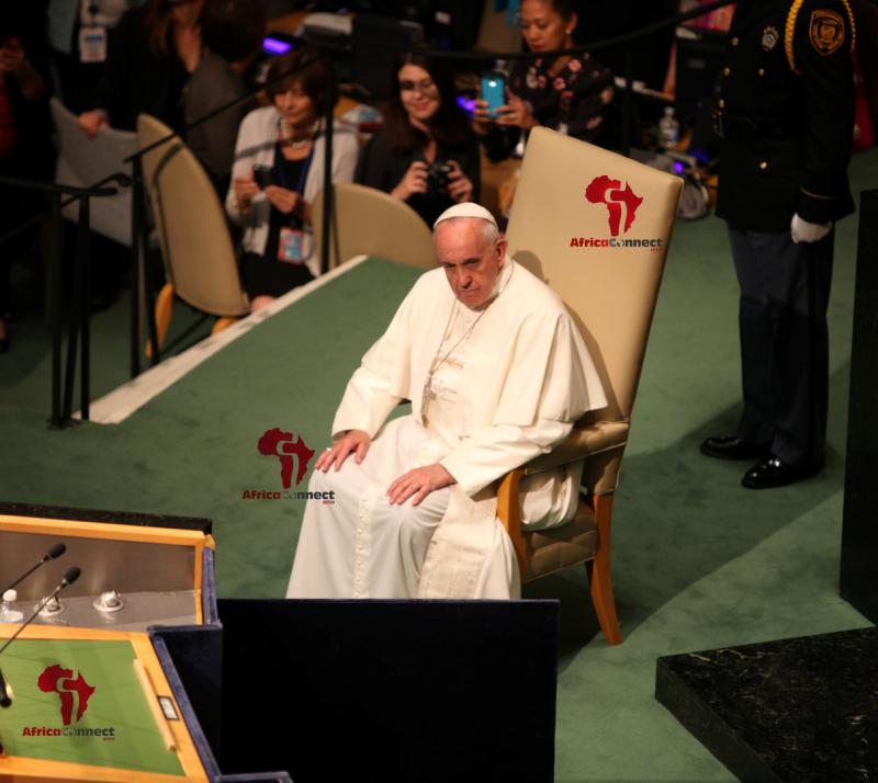 Pope Francis Addresses the UN3