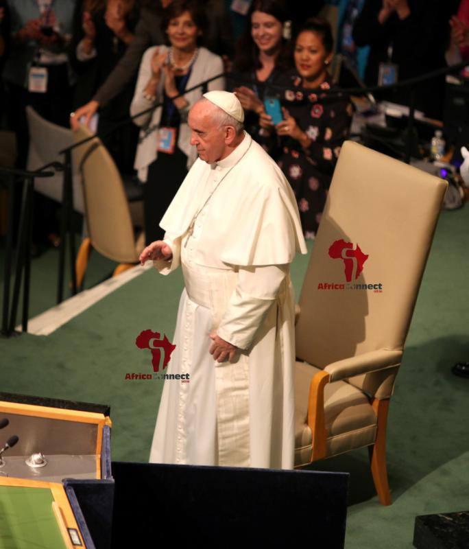 Pope Francis Addresses the UN4