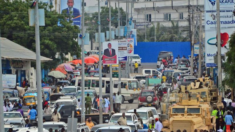Traffic Ban Ahead of Presidential Vote for Somali Elections