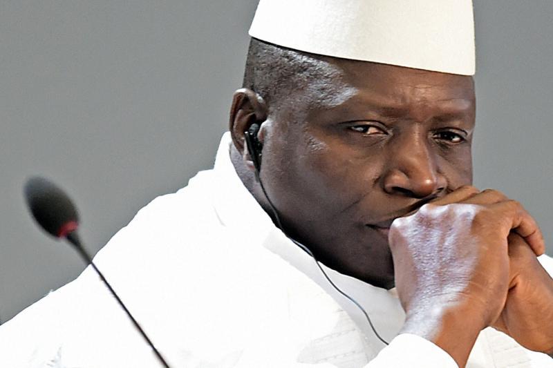 Yaha Jammeh Resigns