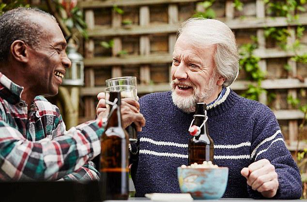 baby boomer drinking
