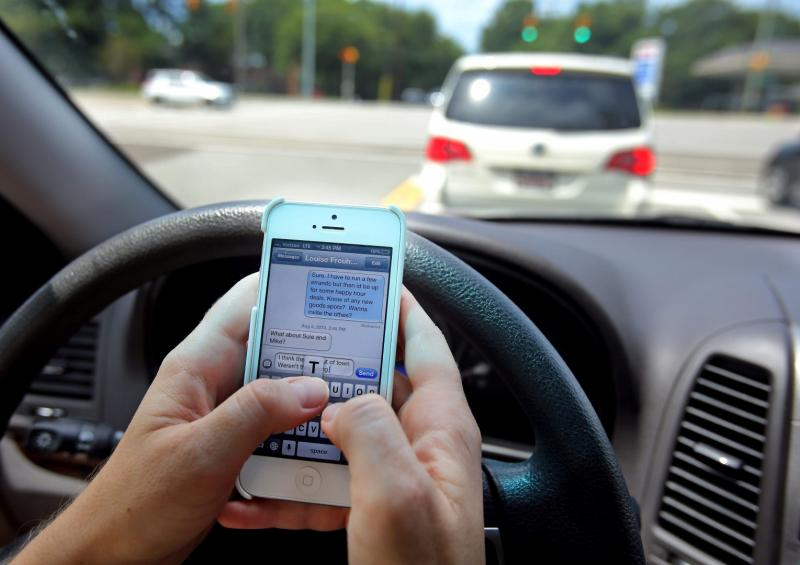 changing habits texting and driving