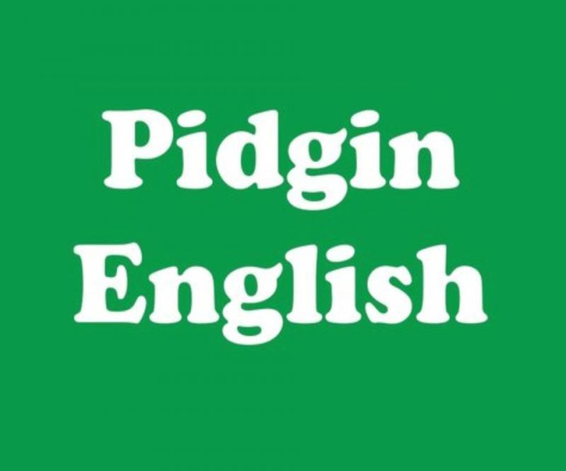 pidgin-english
