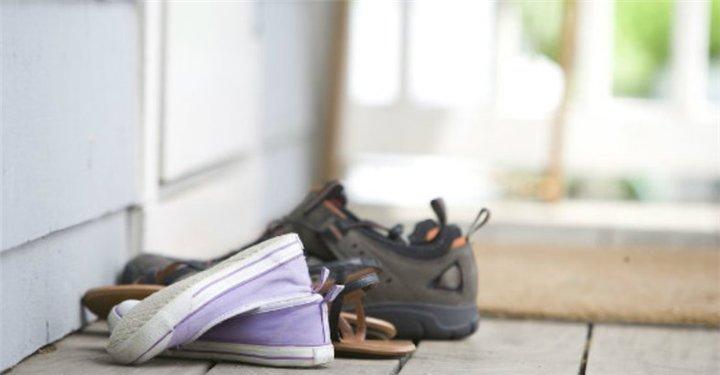 shoes bacteria