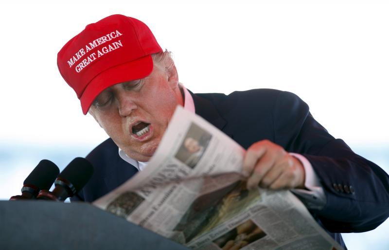 trump in headlines