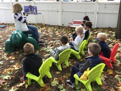 Outdoor Stories and Snack