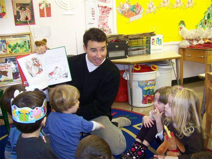 Story Book Reading with a Nursery School Dad!