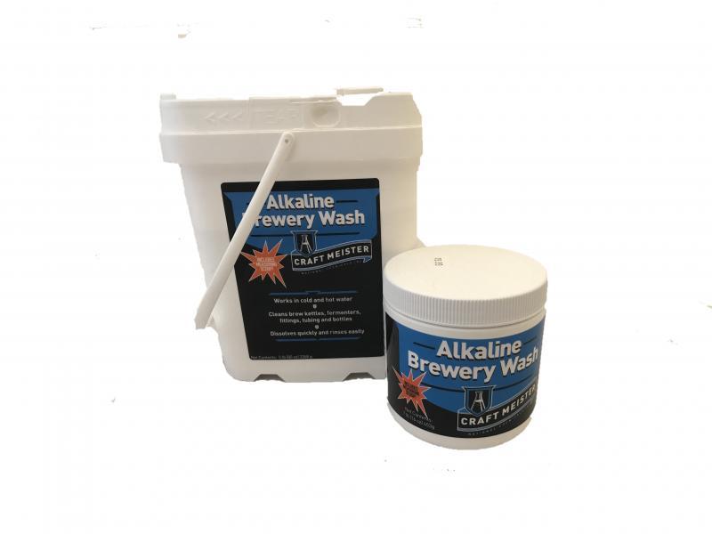 Alkaline Brewery Wash