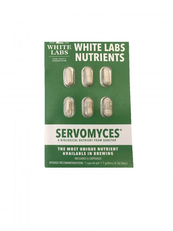 White Labs Servomyces Blister Pack Capsules