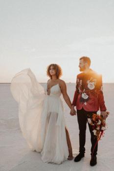 Utah Bridals, Salt Flats | Hillary + Jake
