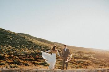 Boho Elopement in Laguna Mountains