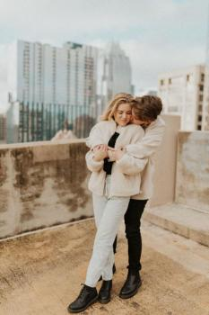 Downtown Austin, Couples Session | Matthew + Victoria