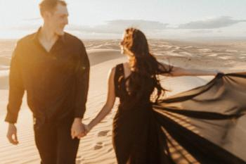 Imperial Dunes Engagement Session