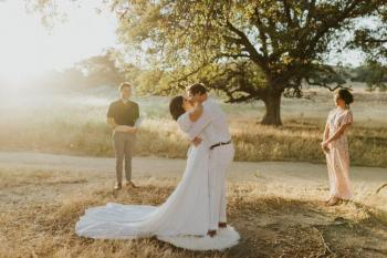 Intimate Julian Elopement in California