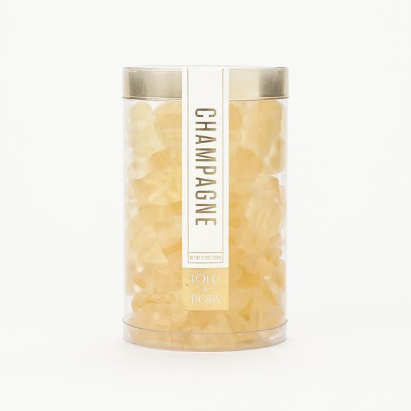 Champagne Gummi Bear Tube