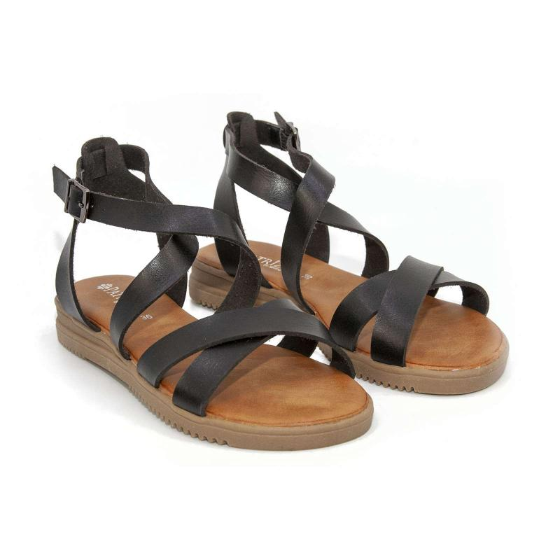 ANGHAL STRAPPY SANDALS