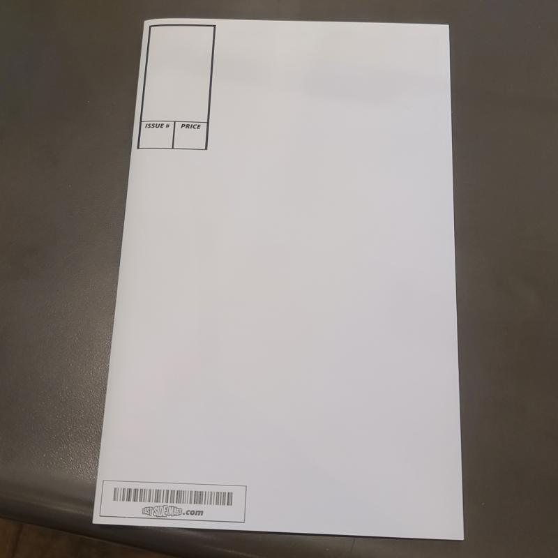 ESM Signature Blank Comic