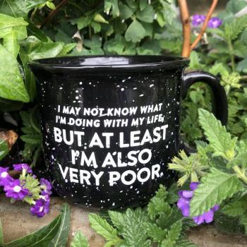 At Least I'm Poor Mug