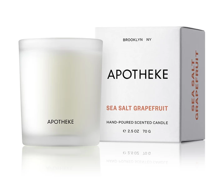Apotheke Sea Salt Grapefruit Votive