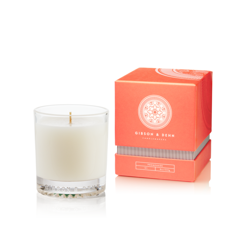 Rhubarb & Quince Candle by Gibson & Dehn