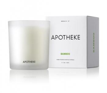 Apotheke Bamboo Candle
