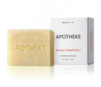Apotheke Sea Salt Grapefruit Bar Soap