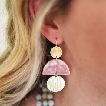 Cashmere Blush Earrings