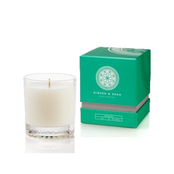 White Tea & Cedar Candle by Gibson & Dehn