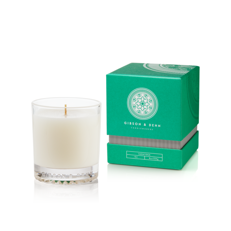 White Tea & Cedar Candle by Gibson & Dehn