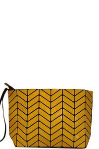 Chevron Shiny Clutch Purse