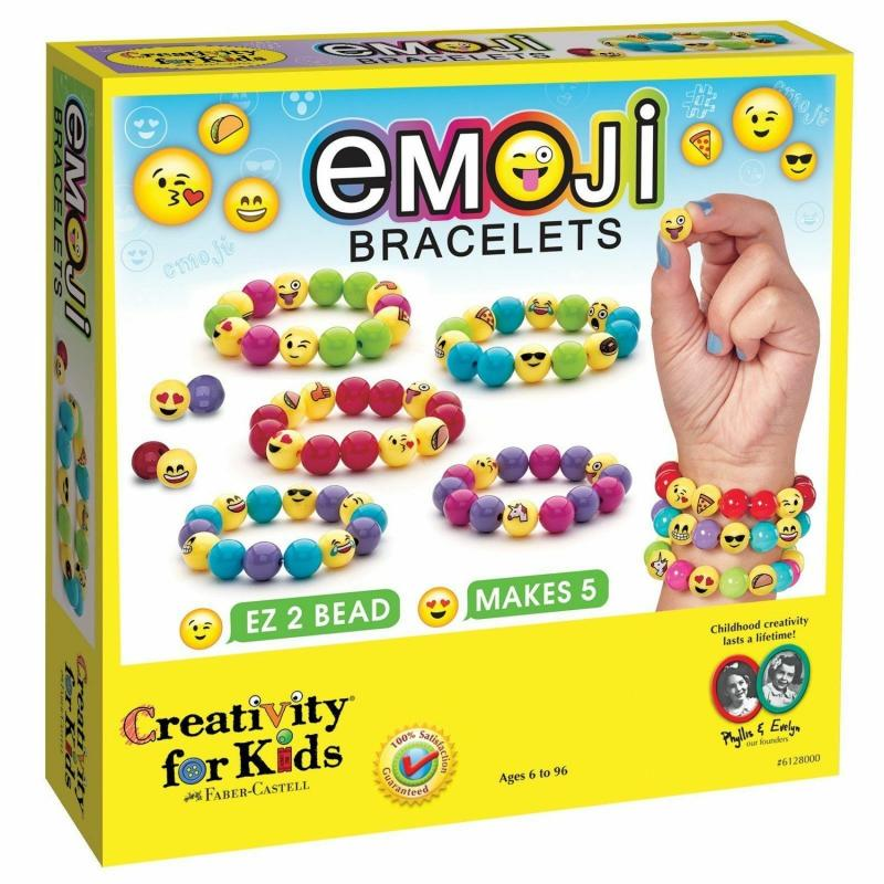 Emoji Bead Bracelet Craft Kit