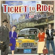 Family Game of the Year - Ticket to Ride New York