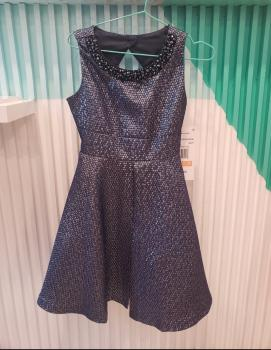 Rare editions navy dress  size 7