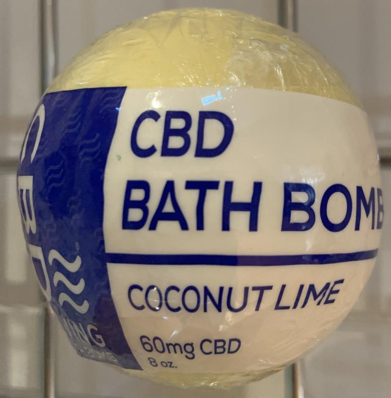 CBD Living Bath Bomb - 60mg