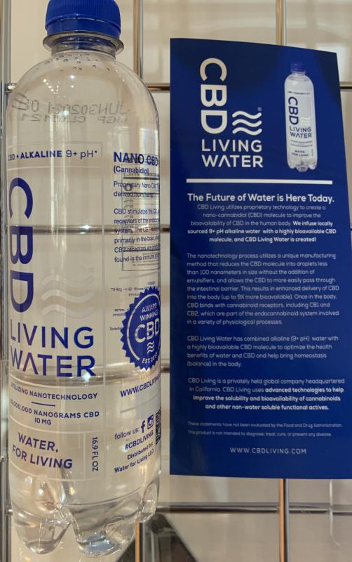 CBD Living Alkaline Water