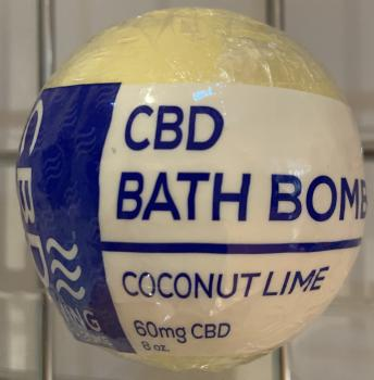 CBD Living Bath Bomb - 60-100mg - 25% off (orig. $14)