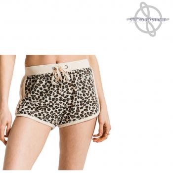 Leopard Print Shorts