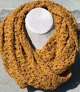 Infinity Scarf Gold