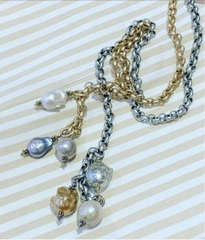 Pearl Statement Necklace