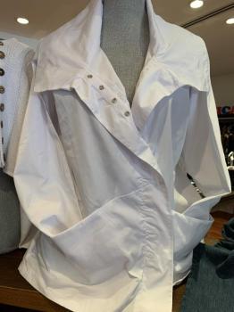 Designer Windbreaker White