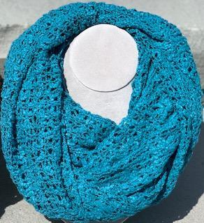 Infinity Scarf Turquoise